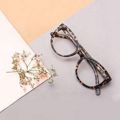 6e29c12b85 Affordable Fashion Glasses Round Eyeglasses Women Must Grey Tilt. See more.  Mist Tortoise - A rounded out square frame for a sleek oversized look.