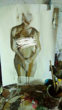 Desnudo en proceso Oleo sobre cromocar 40x60 Painting, You Are Special, Naked, Art, Painting Art, Paintings, Painted Canvas, Drawings