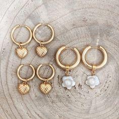 Twininas Hoop Earrings fw20 (1)sm Jewelry Accessories, Handmade Jewelry, Hoop Earrings, Personalized Items, Heart, Unique, Jewelry Findings, Hand Print Ornament, Handmade Jewellery