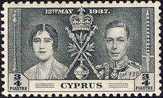 Cyprus 1937 King George VI Coronation SG 148 Fine Mint Scott 140 Other Coronation Stamps HERE