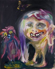 Velvet Laughter Makes the Tears of an Owl by Mitchell Wiebe