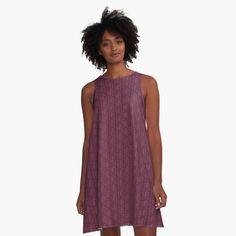 Pink A Line Dress, Purple Dress, I Dress, Dress Red, Velvet Color, Purple Velvet, Fall Patterns, Pink Clouds, Leather Dresses
