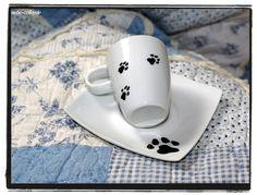 espresso tasse handbemalt  espresso cup handpainted