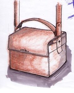Sketches of my bag for hair designers #2