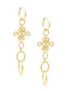 H.Stern 18k Small Love Knot Drop Earrings