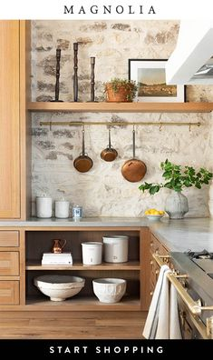 Joanna Gaines Shows Off the Set of Her Future Cooking Show Architectural Digest Classic Kitchen, New Kitchen, Kitchen Decor, Earthy Kitchen, Casa Cook, Magnolia Table, Magnolia Hgtv, Magnolia Market, Chip And Joanna Gaines