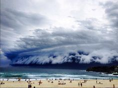 'Cloud tsunami' hits Sydney – in pictures