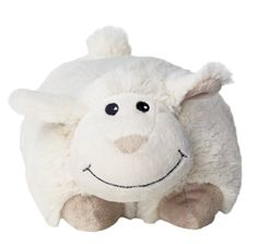 Das Warmies® Multi Wärmekissen Schaf mit flauschig weichem Fell ist etwa 25 cm lang und wiegt ca. 700 g. Dank des praktischen Klettverschlusses verwandelt sich unser Schäfchen vom Kuscheltier zum Wärmekissen mit großer Auflagefläche und angenehmem Lavendelduft. Vielseitig einsetzbar ist es so bei Groß und Klein sehr beliebt. SHOP HIER: http://www.warmies.de/epages/warmies.sf/de_DE/?ObjectPath=/Shops/warmies/Products/01096