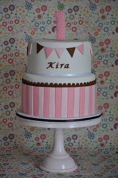 Pink Birthday Cake by jdesmeules (Blue Cupcake), via Flickr