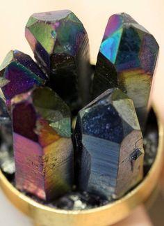 Titanium Druzy Ring Crystal Rainbow Quartz Points Drusy Boho Statement Antique Gold Silver by crystalelements1 on Etsy https://www.etsy.com/listing/229366472/titanium-druzy-ring-crystal-rainbow