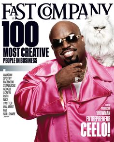 Cee Lo Green photographed by Art Streiber for Fast Company, June 2012 issue.