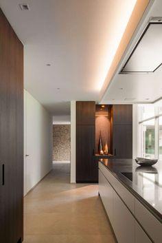 CO – Schellen Architecten Villa, New Homes, Kitchen, House, Inspiration, Summer, Germany, Houses, Kitchens