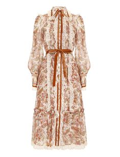 Lace Collar, Collar Dress, Modest Dresses, Cute Dresses, Midi Dresses Online, Silk Midi Dress, Designer Dresses, Designer Clothing, Dress Collection