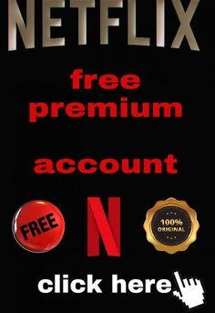 Answers to the questions of how to get free netflix accounts have been updated. Enjoy the Premium of Netflix free in iphone and android/pc Netflix Free, Netflix Movies, Netflix Account And Password, Netflix Premium, Good Movies, Something To Do, Accounting, Good Things, Android Pc