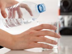 Is Alkaline Water Extra Healthy or a Hoax? Alkaline water, also called ionized water, has a higher pH than regular water -- generally between 7 and Health And Nutrition, Health And Wellness, Health Tips, Health Benefits, Health Articles, Health Care, Drinking Alkaline Water, Signs Of Dehydration, Not Drinking Enough Water