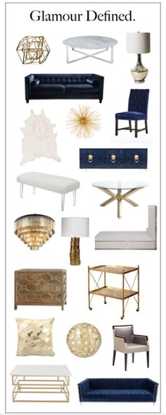 South Shore Decorating Blog: Glamour Defined.