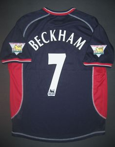 0c9903282 2000-2001 Umbro Manchester United David Beckham Jersey Shirt Real Madrid  England (eBay Link