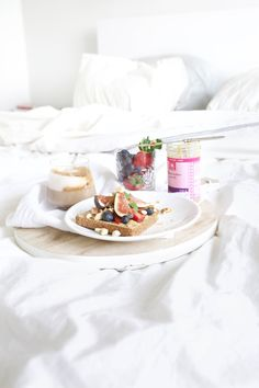 Sunday Breakfast in bed.