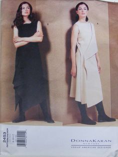 vogue american designer 2453 size 14-18, 2000 factory folds