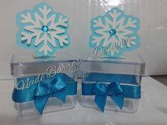 Caixinhas acrílicas frozen By Neide Barros Personalizados