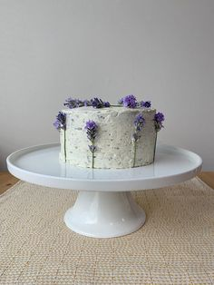 Earl Grey Cake with Lavender Frosting Earl Grey Cake, Earl Grey Tea, Cake Icing, Frosting, 2nd Birthday, Birthday Parties, Early Grey, 8 Inch Cake, Lavender Cake