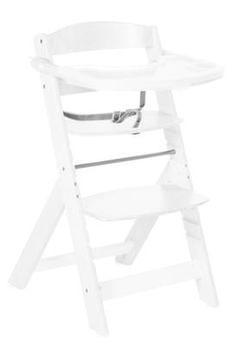Treppenhochstuhl Sit Up Super Maxi weiß lackiert, | roba