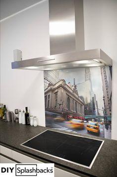 Glass Splashbacks for Kitchens Printed Glass Splashbacks, Capital City, York, Brooklyn Bridge, Prints, Inspiration, Design, Biblical Inspiration, Printed