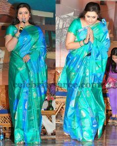 Meena Soft Silk Sari in Dual Color Indian Beauty Saree, Indian Sarees, Silk Sarees, Baby Dress Patterns, Saree Photoshoot, Saree Blouse Patterns, Fancy Blouse Designs, Stylish Sarees, Indian Celebrities