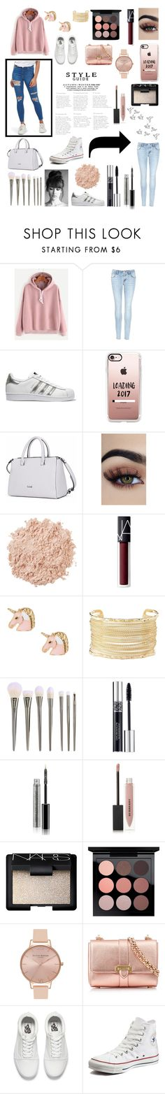 """""""Style Guide"""" by abby1486 ❤ liked on Polyvore featuring J Brand, adidas Originals, Casetify, La Mer, NARS Cosmetics, Charlotte Russe, Christian Dior, Burberry, MAC Cosmetics and Olivia Burton"""