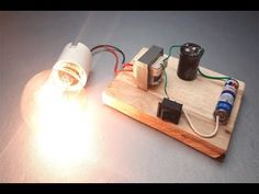 Inverter to how to make inverter made to easy simple circuit - New idea at home 2019 Electronics Projects For Beginners, Electronics Mini Projects, Electronic Circuit Projects, Electronics Basics, Electronic Engineering, Home Electrical Wiring, Electrical Projects, Physics Projects, Simple Circuit