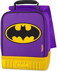 Thermos BatGirl Dual-Compartment Lunch Box Batgirl e120d79c91c37