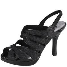 Womens Fioni NightWomen's Helix Glitter Sandal- Payless