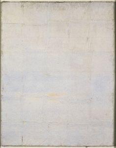 Piero Manzoni, Achrome, 1958-1960, Kaolin auf Leinwand, 100 x 70 cm, Museum Morsbroich, Leverkusen ZERO foundation