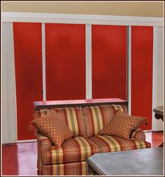 Ruby Red Film In Privacy or See-Through For Windows, Glass Doors | Wallpaper For Windows