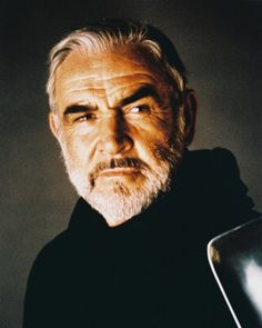 Sean Connery!  He gets better looking the older he gets!