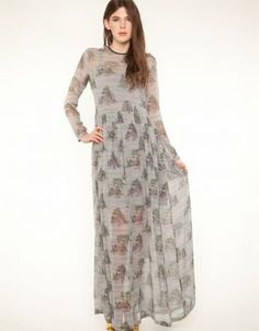 Dearly Departed Maxi Dress