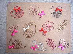 Bookmarks - but they are a nice selection of wire shapes that could be used for other things.