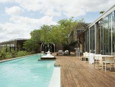 Singita Lebombo Lodge - Pooldeck