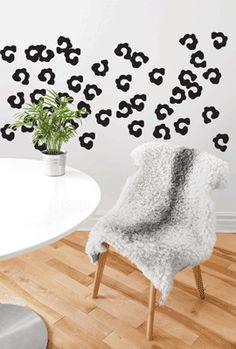 Leopard Spots Pattern Wall art South Africa Stickart