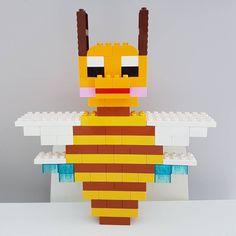 Hier siehst du eine Biene aus LEGO® Duplo, die uns von BRICKaddict.de gefällt!