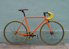 Safety Orange | Mission Bicycle Company