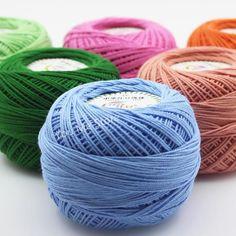 100% Cotton Crocheting Yarn 50g/pcs - Free Shipping Worldwide
