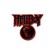 Hellboy The Science of Evil PSP Logo ❤ liked on Polyvore featuring hellboy