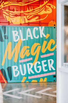 A new restaurant chain called Black has hit the Polish market, known across Israel for its high quality burgers. We were tasked with the visualisation of the brand and designing its first location in the Arcadia shopping mall.The visualisation of the br… Real Burger, Burger Bar, Black Burger, Restaurant Interior Design, Jobs Apps, Communication Design, Environmental Design, Bar Furniture, Design Agency