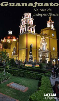 Guanajuato, México - Uma bela cidade esperando por ser descoberta em plena rota da independência mexicana.