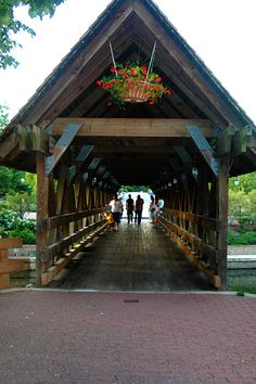 Riverwalk in Naperville, IL