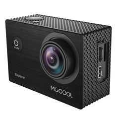 [$41.58] MGCOOL Explorer 12MP 4K 170 Degrees Wide Angle WiFi Sport Action Camera Camcorder with 30m Waterproof Housing Case, 2.0 inch Screen Allwinner Technology V3 CPU Sony IMX 179 Sensor, Support 64GB Micro SD Card(Black)