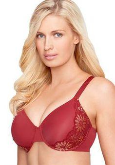 Bra, lace microfiber sling style by Amoureuse® | Plus Size Holiday Magic | fullbeauty.com