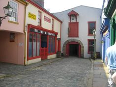 The Ulster American folk museum in Omagh