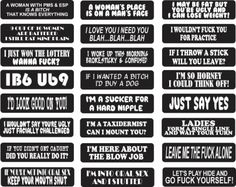 Pack of 24 preselected helmet stickers. Stickers will be as shown.